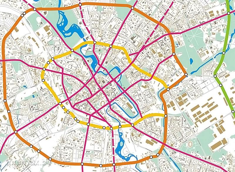 План развития центральных транспортных магистралей Минска до 2030 года
